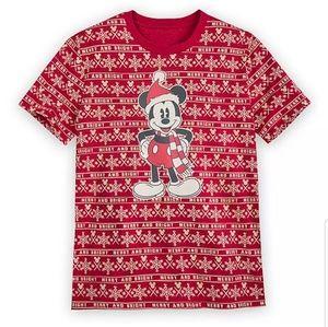 Mickey Mouse Holiday Cheer Christmas T-Shirt